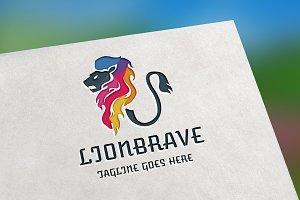 Lion Brave Logo