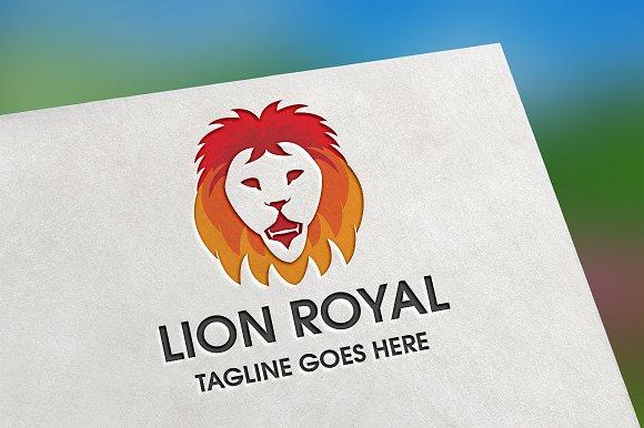 Lion Royal Logo