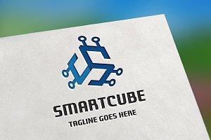 Smart Cube (Letter S) Logo