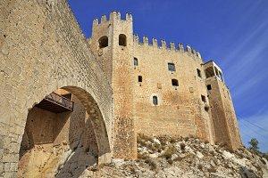 the castle of Velez Blanco