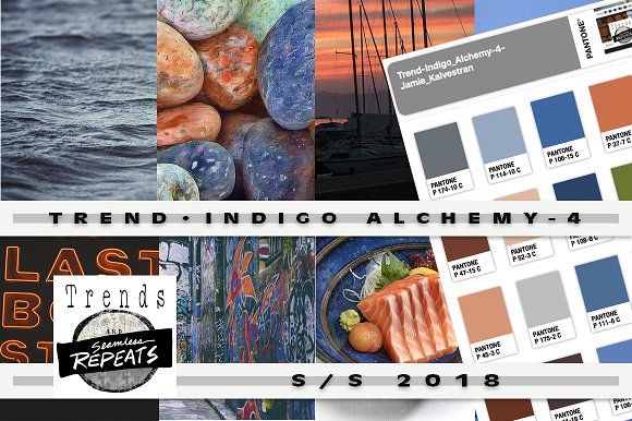 Trend Color S S'18 Indigo Alchemy