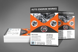 Auto Business Flyer