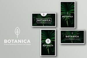 BOTANICA Business Card Template