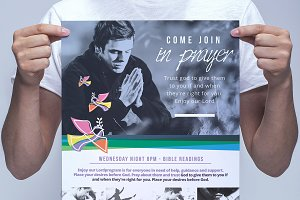Modern Church Poster Template