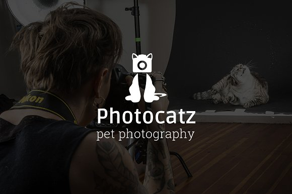 Photocatz Pet Photography Logo