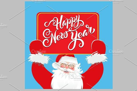 Happy New Year Santa