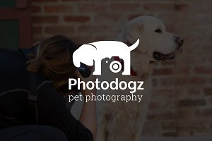 Photodogz : Pet Photography Logo