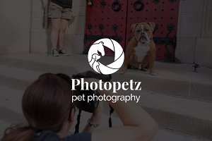 Photopetz : Pet Photography Logo