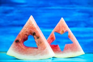 Useful vitamin summer berry watermelon