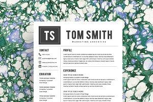 Resume Template/CV + Cover Letter