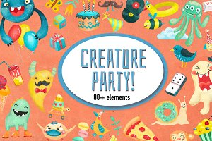 Creature party set