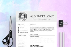 Resume Template / CV with Photo