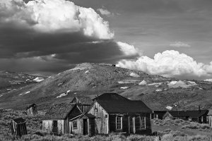 Ghostown Bodie in California