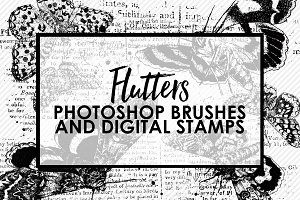 Flutters Photoshop Brushes