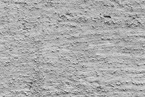 Stuccoed Wall in Black and White