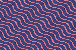 Trendy Memphis lines pattern
