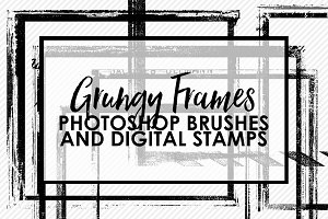 Grungy Frames Brushes