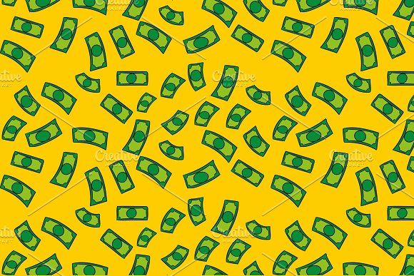 Dollars Money Pattern