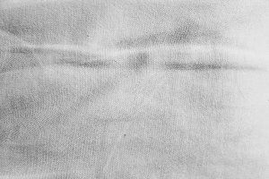Sackcloth  Detail in Black and White