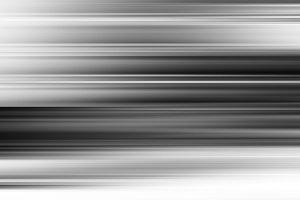Horizontal black and white motion blur background