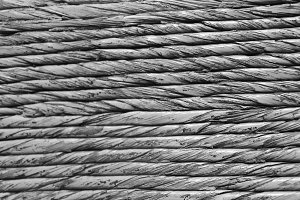Ropes Detail in Black and White