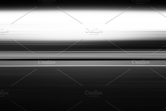 Horizontal Black And White Motion Blur Illustration Background