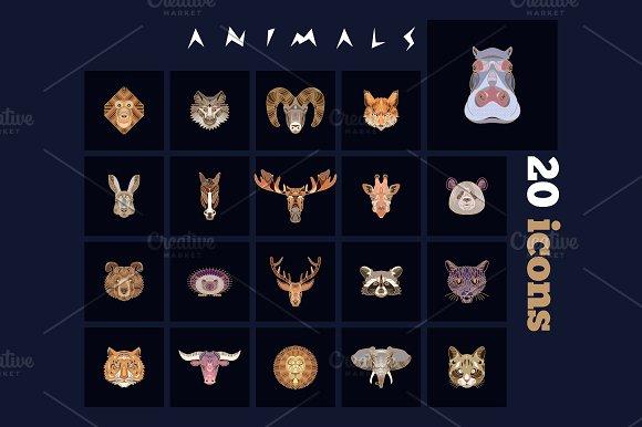 20 Animal Icons