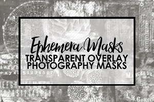 Ephemera Mask Overlays