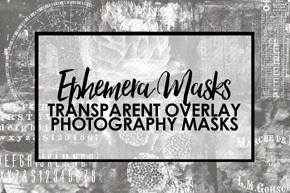 Ephemera Mask Overlays