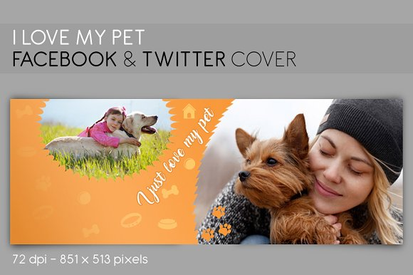 Facebook Twitter Cover MY PET