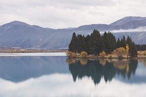 Beautiful Reflections on a Lake