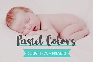 22 Pastel Color Lightroom Presets