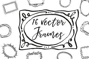16 Vector Frames