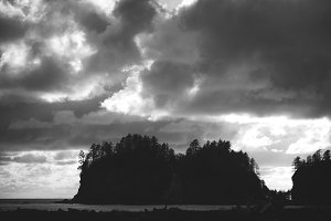 La Push with Dramatic Sky