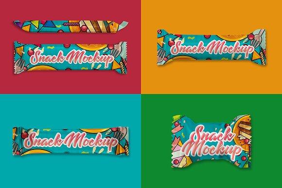 Snack Bar Mockup