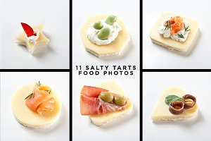 11 SALTY TARTS - FOOD STOCK PACK
