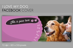 Facebook, Twitter cover MY DOG