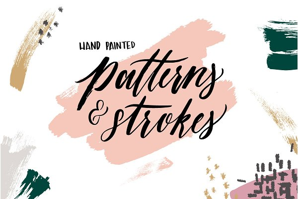 Hand Painted Patterns and Strokes