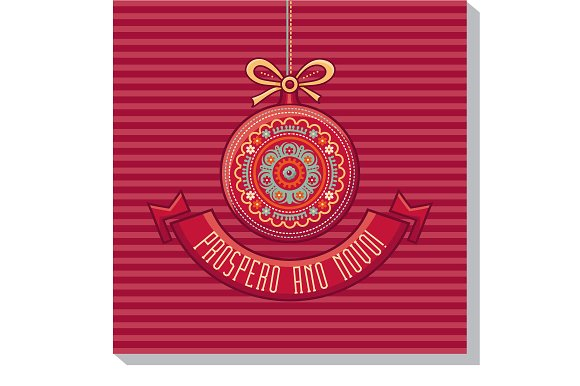 Prospero Ano Novo Red Ball