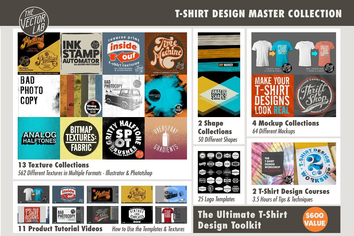 T-Shirt Design Master Collection - Graphics