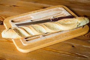 French bread baguette