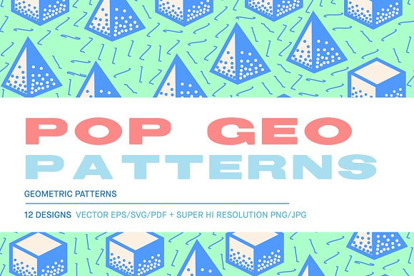 Pop Geo Patterns
