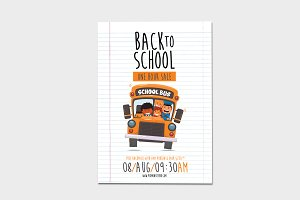 Back-To-School 1-hour Sale Flyer