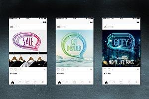 10 Social Media Banners Vol. 1
