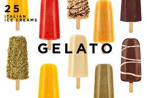 25 ITALIAN ICE CREAMS PHOTOPACK