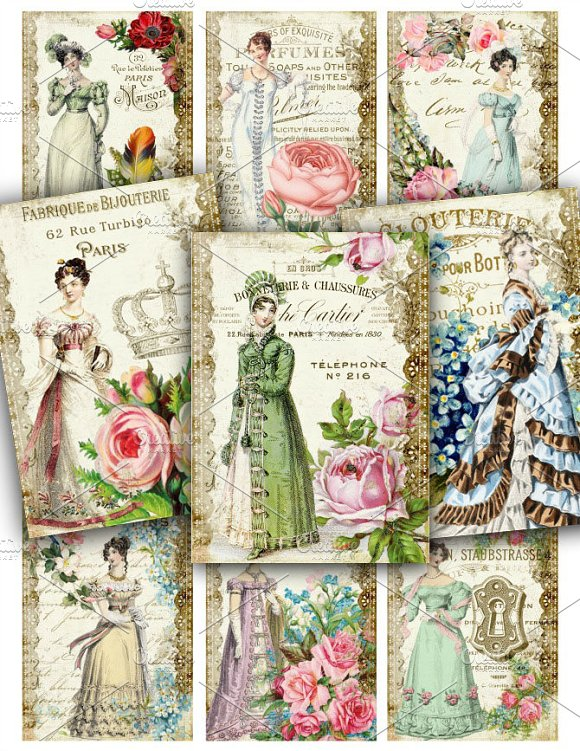 Lady Friends Victorian Sheet