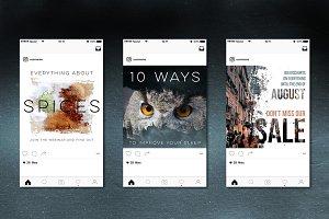 10 Social Media Banners Vol. 2
