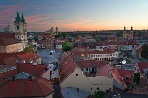 The Beautiful Wine Region of Eger in Hungary