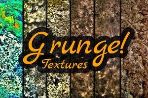 6 Grunge Textures Pack