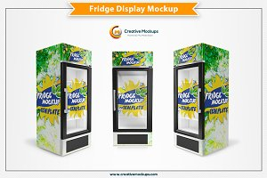 Fridge Display Mockup